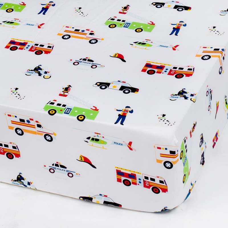 Heroes Fitted Crib Sheet