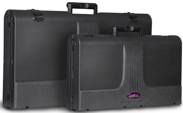ShowStyle Pro32 Deluxe With Lights & Canvas Case: Blue Fabric