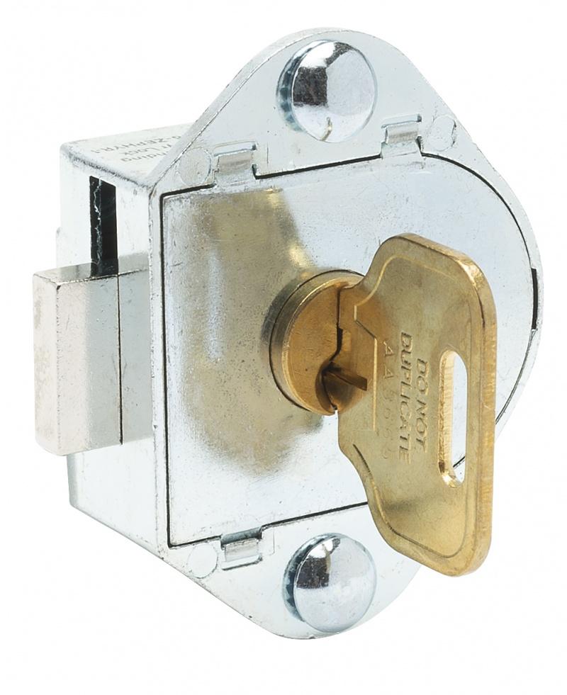 Zephyr ADA Built-In Key Lock, Vertical DeadBolt, With 3 ADA User Keys